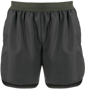 Thom Browne Flytweight Tech 4-bar running shorts