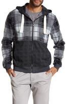 Smash Wear Long Sleeve Plaid Zip Hoodie