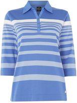 Tigi Three Quarter Sleeve Polo Neck Shirt