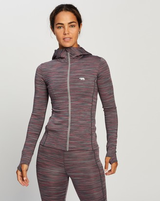 Running Bare Bare the Elements Zip Jacket with Hood & Thumbholes