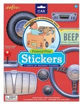 Eeboo Infant Cardboard Box Car Stickers