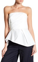 ABS by Allen Schwartz Strapless Blouse