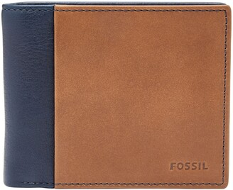 Fossil Ward Leather Wallet