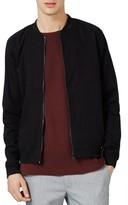 Topman Men's Cotton Bomber Jacket