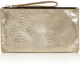 """Oasis LEATHER LAYLA SNAKE PURSE [span class=""""variation_color_heading""""]- Mid Blue[/span]"""
