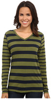 Jag Jeans Wells Tee Classic Fit Shirt Striped Jersey