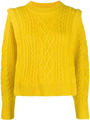 Etoile Isabel Marant cable knit sweater