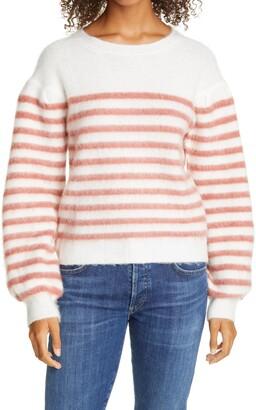 Line Frida Stripe Balloon Sleeve Sweater