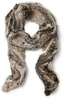 Banana Republic Faux Fur Skinny Scarf