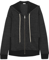 Splendid Tahoe Jersey Hooded Top - Black