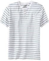 Old Navy Men's Thin-Stripe Slub-Knit Henleys