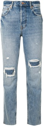 Anine Bing Betty ripped jeans