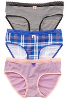 Betsey Johnson Set Of 3 Hipster.