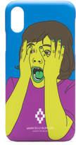 Marcelo Burlon Iphone X Scared Face Case