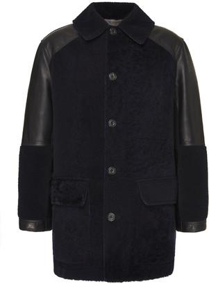 Alexander McQueen Shearling Leather Jacket