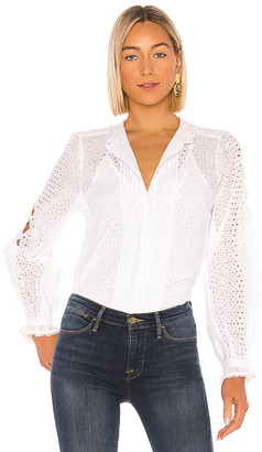 Frame Petal Button Down Shirt