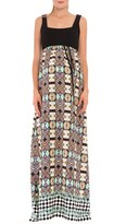 Olian Women's 'Sofia' Empire Waist Maternity Maxi Dress