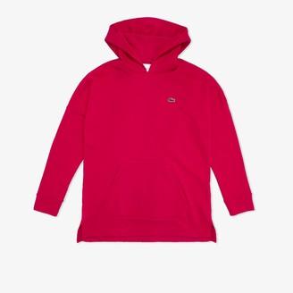 Lacoste Womens SPORT Fleece Sweatshirt Hoodie Dress