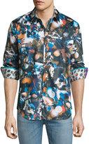 Robert Graham Indian Ocean Long-Sleeve Sport Shirt, Multi