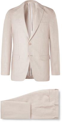 HUGO BOSS Nelin Ben Slim-Fit Linen Suit