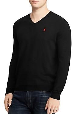 Polo Ralph Lauren Merino Wool V-Neck Sweater