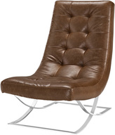 Modway Slope Stainless Steel Lounge Chair