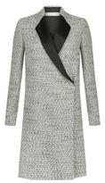 Victoria Beckham Speckled Bouclé Tailored Coat