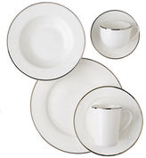 Glucksteinhome Prescott Tea Cup With Platinum Rim 210 ml