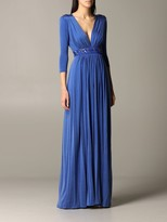 Elisabetta Franchi Celyn B. Dress Long Jersey Dress With Beads