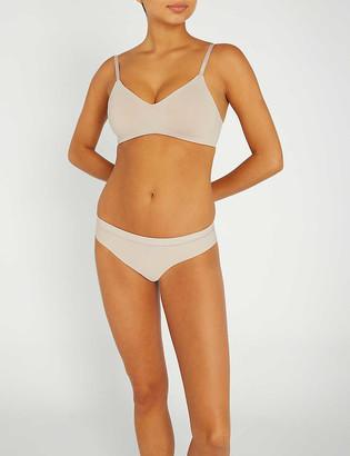 Calvin Klein Form stretch-jersey unlined triangle bra