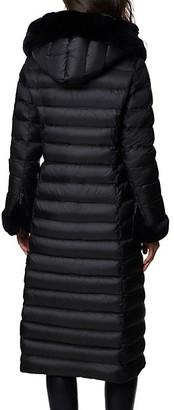 Dawn Levy Lexie Fur Longline Puffer Coat