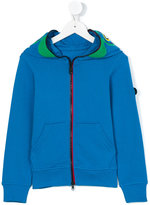 Ai Riders On The Storm Kids - patched hoodie - kids - Cotton - 4 yrs