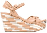 Pedro Garcia Dolores wedge sandals