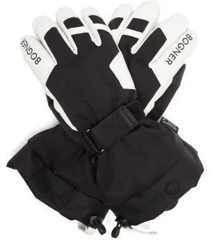 Bogner Primo R-tex Xt Ski Gloves - Mens - Black White