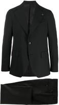 Oversized Lapel Single-Breasted Suit Jacket