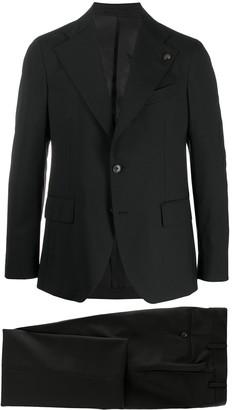 Gabriele Pasini Oversized Lapel Single-Breasted Suit Jacket