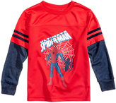 Marvel Spider-Man Graphic-Print Shirt, Toddler Boys (2T-5T)