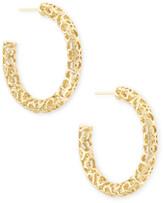 Kendra ScottKendra Scott Maggie Small Hoop Earrings in Filigree