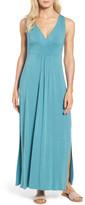Caslon Knit Maxi Dress (Petite)