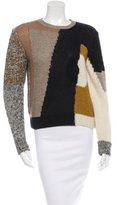 Carven Long Sleeve Wool Sweater