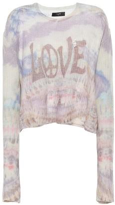 Amiri Love cashmere sweater