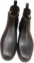 Bally Black Plastic Ankle boots