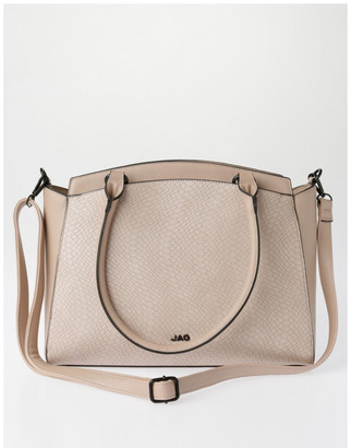Jag Lydia Double-Handle Tote Bag in Blush