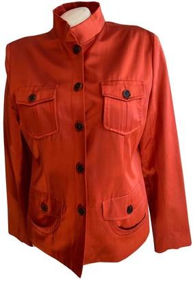 Loewe Orange Cotton Jacket for Women Vintage