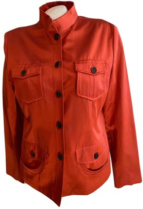 Loewe Orange Cotton Jackets