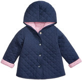 First Impressions Quilted Reversible Cotton Jacket, Baby Girls (0-24 months), Created for Macy's