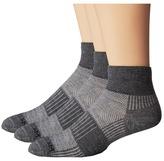 Wrightsock Merino Coolmesh Quarter 3 Pack Quarter Length Socks Shoes