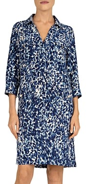 Gerard Darel Solange Printed Silk Dress