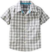 Osh Kosh Toddler Boy Woven Short-Sleeved Button-Front Shirt