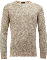 Roberto Collina crew neck jumper - men - Cotton/Linen/Flax/Polyamide/Viscose - 50